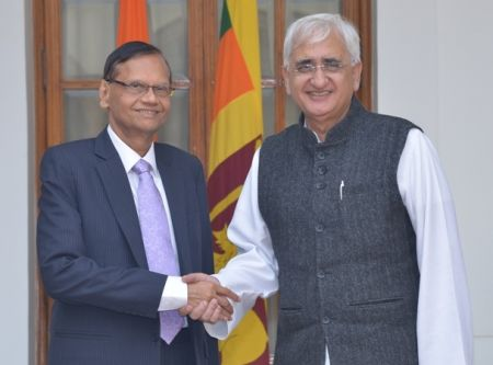 EXTERNAL_AFFAIRS_MINISTERS_OF_SRI_LANKA_AND_INDIA_HOLD_TALKS